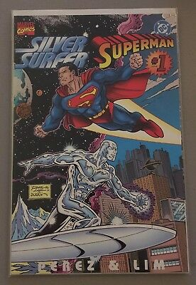 Marvel/dc Comics; Silver Surfer / Superman Dlx One Shot