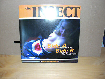 """The Insect - Hard to Cry  Vinyl 7"""""""