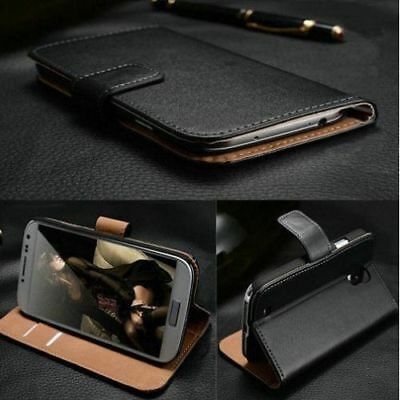 Black Case Leather Wallet Flip Stand Cover For Nokia 2.1 / 3.1 / 5.1 / 6.1 / 7.1