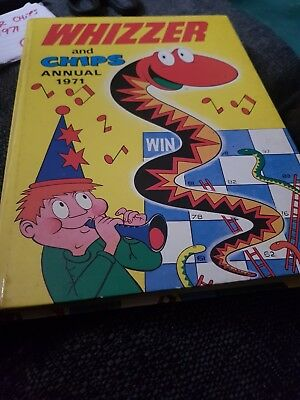 The Whizzer And Chips Annual 1971 X VERY GOOD CONDITION X VERY RARE XX 1236 XX