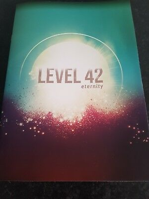 Level 42 Eternity Uk And European Tour 2018 Souvenier Programme