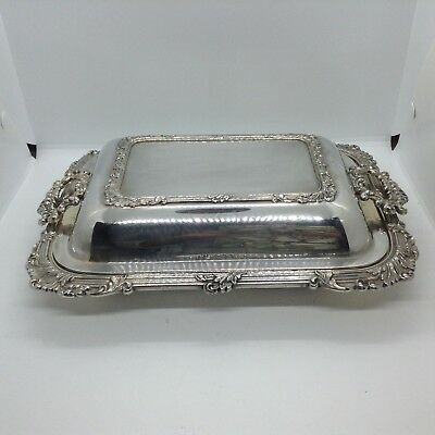 Antique Silver Plated Vegetable Tureen