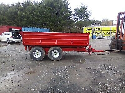 Fraser Farm Tipping Trailer 12x7 No Vat Pl