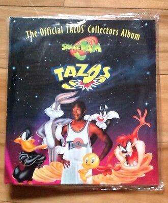 The Official Tazos Collectors Album Space Jam New Never Open