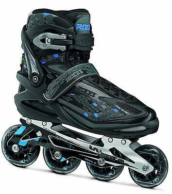 41 Sale Roces Stripes black blue Fitness Inline Skates Gr Inliner Abec 5 80mm