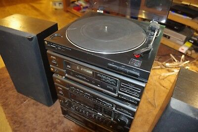 Aiwa Hifi Stereo System, includes Amp, Turntable, CD, Cassette and equaliser