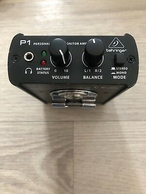 Behringer P1 Powerplay In Ear Monitor Amplifier