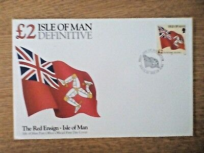 Isle of Man 1994 £2 Definitive FDC..FIRST DAY COVER unaddressed with insert