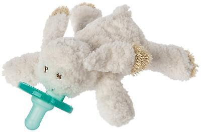 WubbaNub Infant Dummy and Soft Toy, Oatmeal Bunny by Mary Meyer