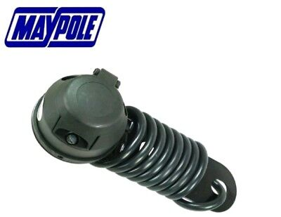 MAYPOLE 7 pin PRE-WIRED SOCKET Car Trailer Electrics 12N Electric mounting plate