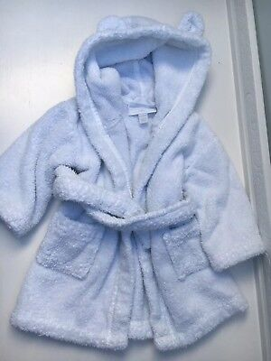 The Little White Company Baby Dressing Gown 6-12 Months