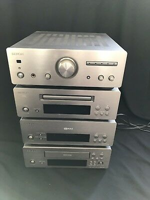 Denon D-F10 Mini Hi-Fi - Amp + Tuner + CD + Cassette Player