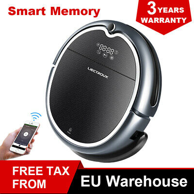 Liectroux Q8000 New Wifi APP Control Robot Vacuum Cleaner With Map Navigation