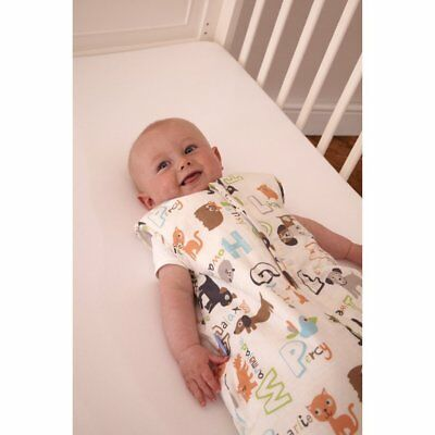Grobag Baby Sleeping Bag Simply Alphapets 6 - 18 months 2.5 tog front zip