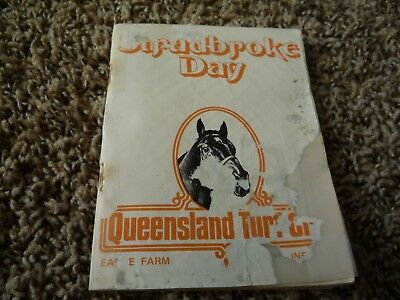 12th June 1976 Stradbroke Day Queensland Horse Racing Programme Race Book
