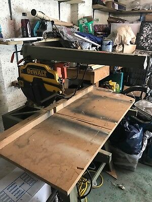 Dewalt DW 8101 radial arm saw