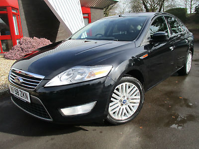 2008 58 Ford Mondeo 1.8TDCi 125 6sp Ghia 5 Dr Hatch Full Service History 77K