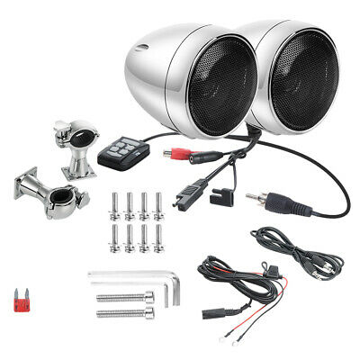Audio 300W Bluetooth Speakers Amplifier Handlebar System for Harley