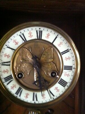 OLD WALL CLOCK for PARTS or REPAIR or RENOVATION or SPARES