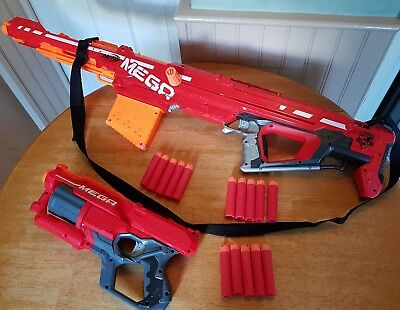 nerf mega centurion bundle + cycloneshock 15 darts & gun strap fully tested. VGC