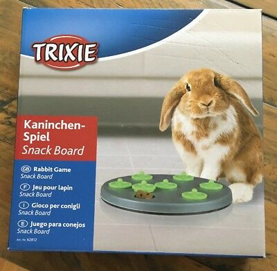 Trixie Rabbit/Guinea Pig Puzzle Snack Board Treat Finding Game/Toy