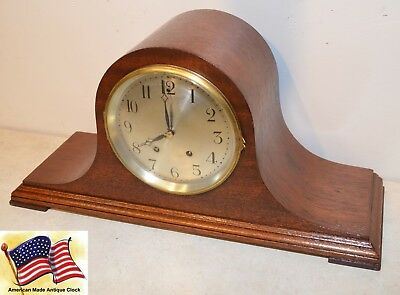 Fully Restored Seth Thomas Tambour No. 15 - 1922 Antique Time&strike Clock