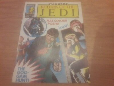 Star Wars Return Of The Jedi Comic. No.145. 29Th March 1986. Marvel Comics Uk.
