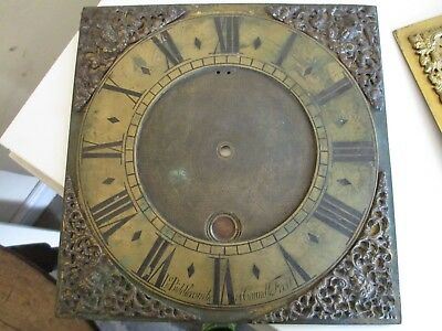 John Biddlecombe of Caundle  Early Ten Inch Brass Dial Only
