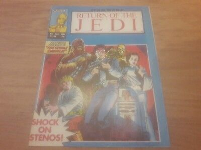 Star Wars Return Of The Jedi Comic. No.146. 5Th April 1986. Marvel Comics Uk.
