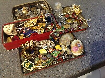 Job Lot Of Beautiful  Antique And Vintage Collectables.