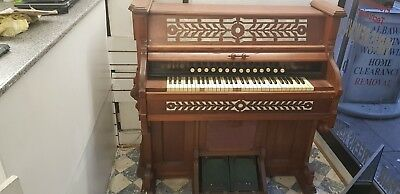 Antique Vintage W. Bell & Co. Organ Piano 130 Years Old