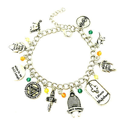 Firefly Serenity (10 Themed Charms) Assorted Metal Charm Bracelet