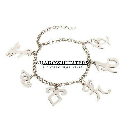 Shadowhunters (6 Themed Charms) Assorted Metal Charm Bracelet