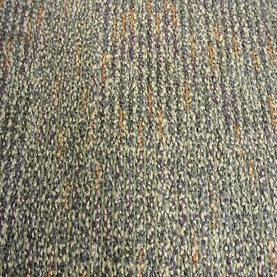 Interface Green Carpet Tiles With Multi Colour Flecks. Commercial Domestic Use