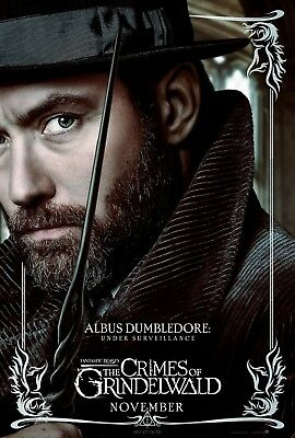 24x36 Dumbledore v1 Fantastic Beasts The Crimes of Grindelwald Movie Poster