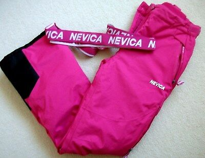 """Girls """"NEVICA"""" Hot Pink Ski Trousers /Salopettes - Age 13 yrs"""