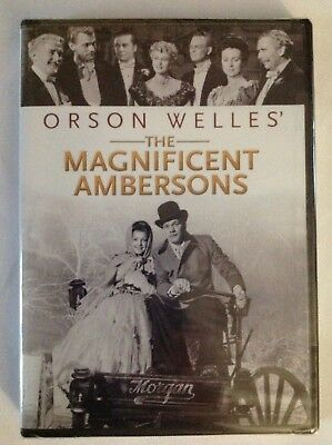 The Magnificent Ambersons Orson Welles (DVD, 2012) FACTORY SEALED / R1 / NTSC