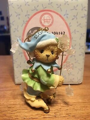 RARE NEW Cherished Teddies - Jack Frost - 104142 - Hanging Ornament - 2002