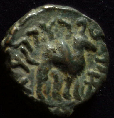 ANCIENT INDIA, Kushan, Vima Takho, (Soter Megas) c. 80-90 AD,  bull/camel copper