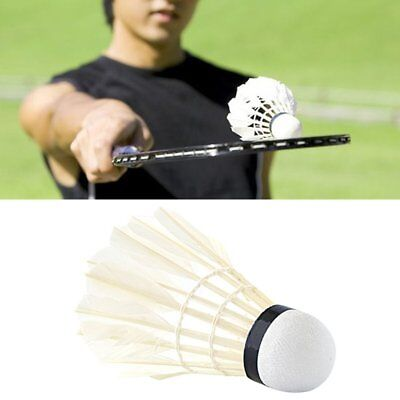 12pcs/set Professional Goose Feather Badminton Competition Gaming Shuttlecock MN
