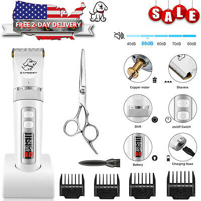 Pet Professional Dog Cat Grooming Clippers Kit Dog Cat Hair Trimmers Groomer Set