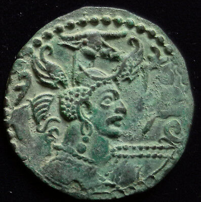 ANCIENT INDIA, Huns, Napki Malik, c. 475-575AD, billon drachm, MA 1510+