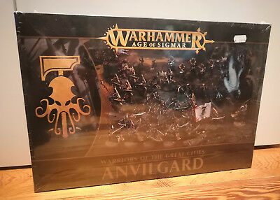 Warhammer Age of Sigmar - Warriors of the great Cities - ANVILGARD - GW / AOS