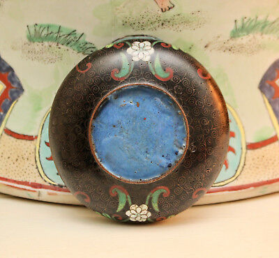 A Good Antique Chinese Cloisonné Bowl
