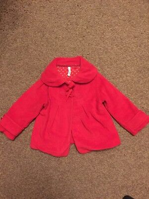 NEXT BABY INFANT TODDLER GIRLS COAT SIZE 18-24 MONTHS 1.5-2years