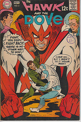 Hawk and the Dove 2 - 1968 - Ditko - Fine/Very Fine