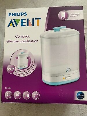 Philips Avent SCF922/01 2-in-1 Electric Steam Steriliser