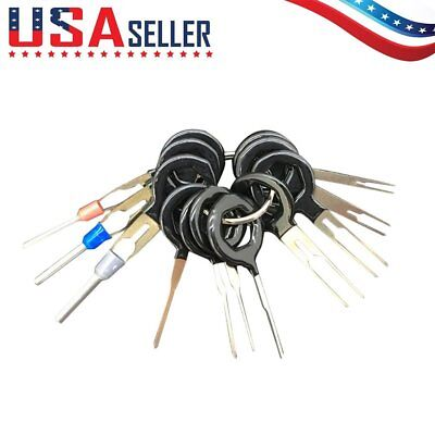 11 Terminal Removal Tool Car Electrical Wiring Crimp Connector Pin Extractor **