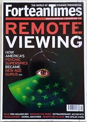 FORTEAN TIMES - AUG 2004 - Remote Viewing - How America's Psychic... FT186