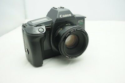 Canon EOS 600 35mm film SLR camera with Canon EF 50mm 1.8 II